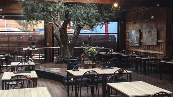 Sala del restaurante - Ritual, Molins De Rei