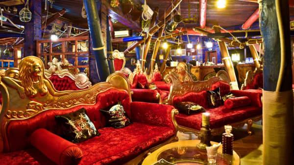 Vue de la salle - Lounge bar Poséidon, Agde