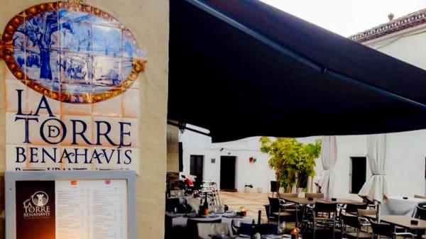 Terraza - La terraza de la torre, Benahavis