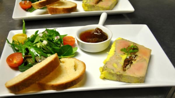 Foie Gras - La Table d'Adam, Fontvieille