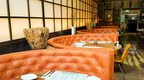 Het restaurant - The Grill Club, Rotterdam