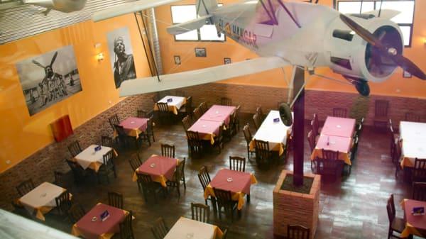 Vista sala - El Hangar, Getafe