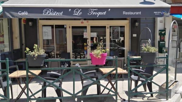 Terrasse - Le Troquet, Saint-Vallier