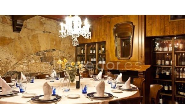 Vista del reservado - Casa Paca, Salamanca
