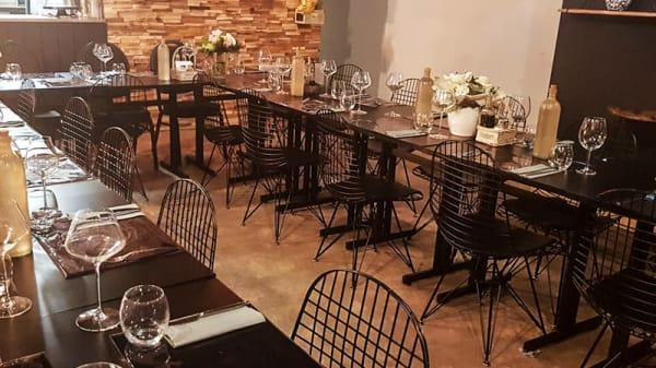 Salle du restaurant - La Ferme, Limoges