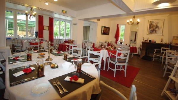 Salle du restaurant - Auberge du Buissonnet, Choisy-au-Bac