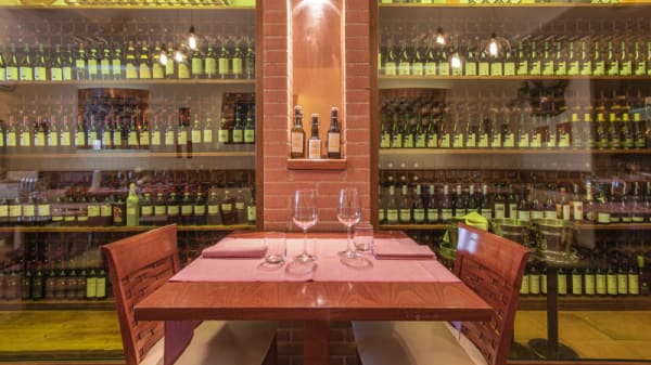 Vista sala tavolo romantico - Taverna Angelica, Roma