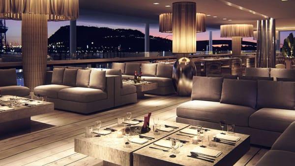Mesas con sofas - Alegra, Barcelona