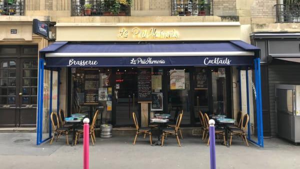 Devanture - Le PhilHarmonia, Paris