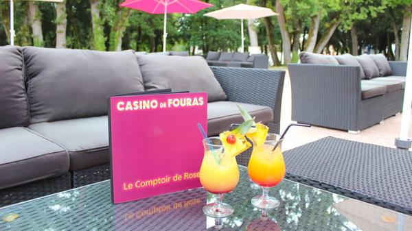 La terrasse boisée - Le Comptoir de Rose- Le restaurant du Casino, Fouras