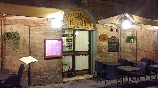 Esterno - Kamollia, Siena