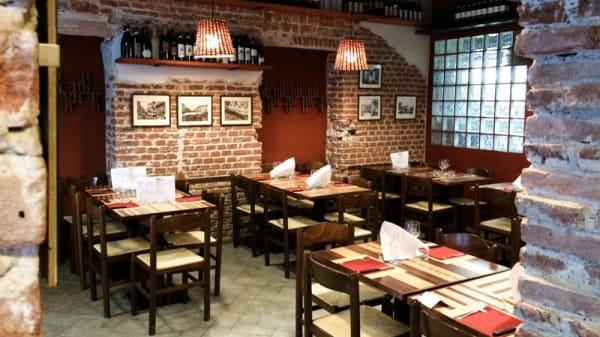 La sala - Osteria dal Verme, Milan