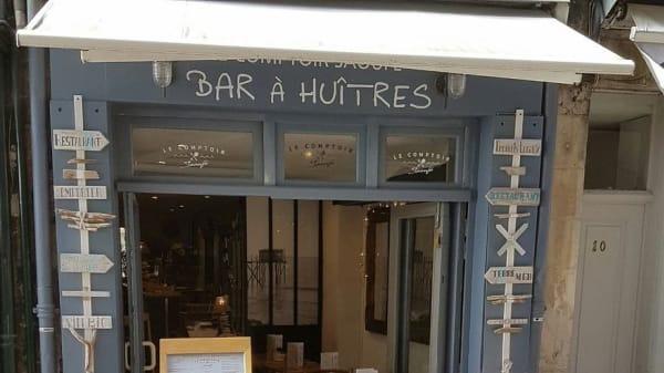 Entrée - Le Comptoir Saoufé, La Rochelle