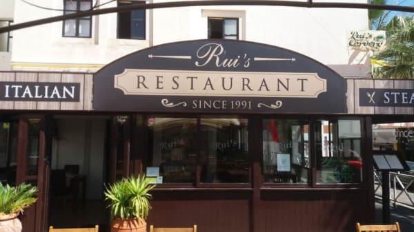 Entrada - Rui's Restaurant, Quarteira