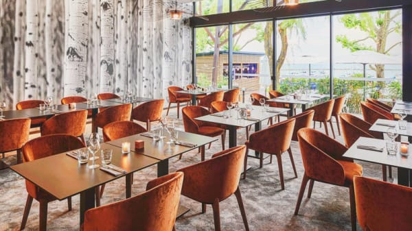 Le Belvédère - Salle de restaurant - Le Belvédère, Mesnil-Saint-Père