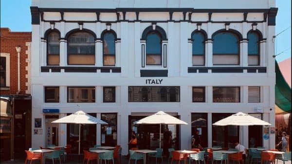 Italy Facade - Italy Cafe Ristorante e bar, Adelaide (SA)
