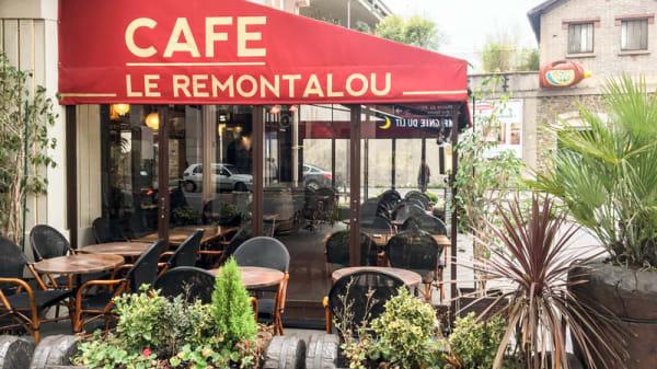 Devanture - Le Remontalou, Paris