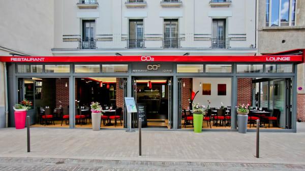 devanture - CO2, Vincennes