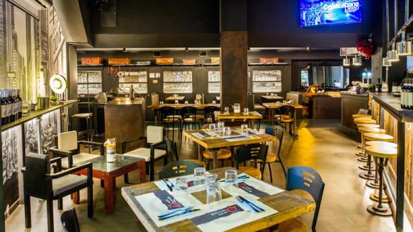 Salone ristorante - Binario Zero, Rome