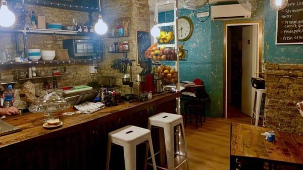 Vista del interior - The Coffee House Barcelona, Barcelona