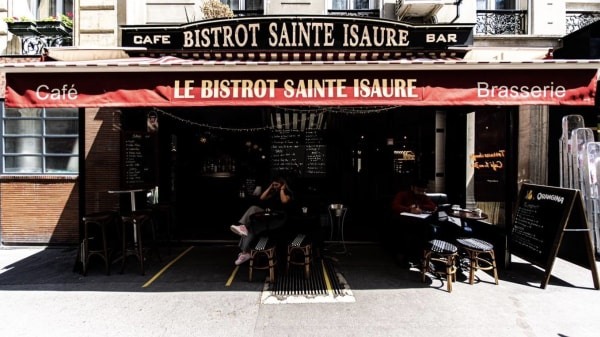 Terrasse - Le Bistrot Sainte Isaure, Paris