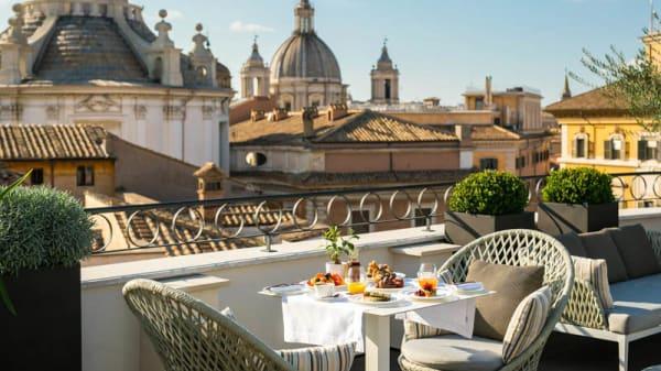 Terrazza - Divinity Restaurant, Rome