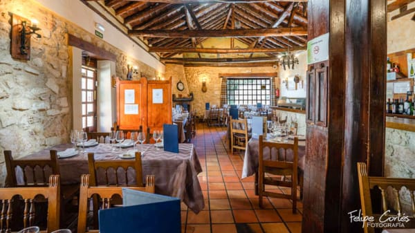 Vista sala - Restaurante El Molino de Madrona, Segovia