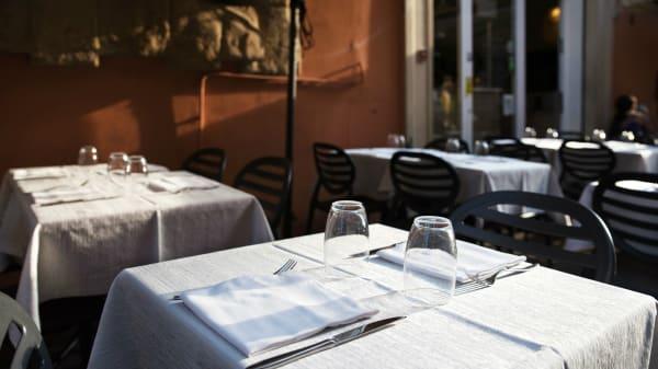 Particolare tavolo - Clavature, Bologna