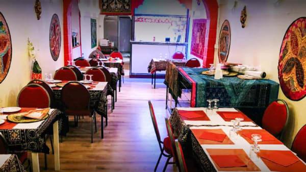 Vue de la salle - Curry Masala, Montpellier