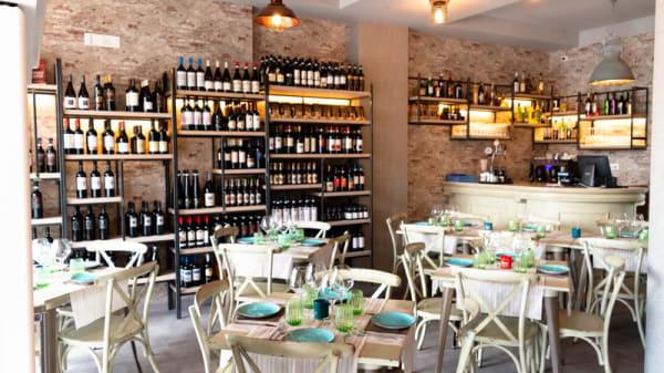 Vista sala - Coppola Rossa, Matera
