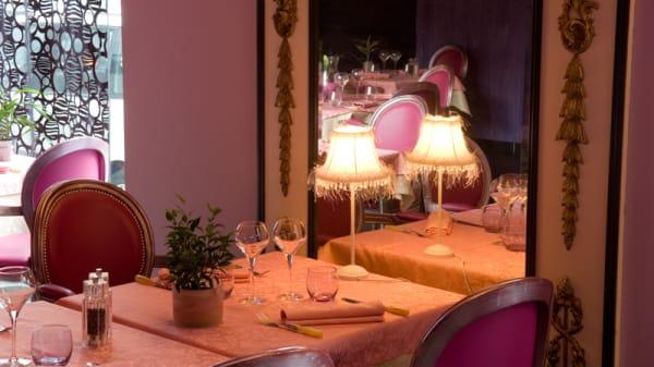 Vue des tables - Le Dix Vins, Grenoble