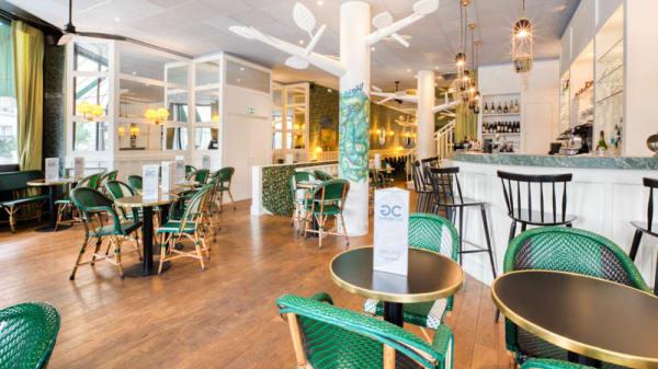 Vue de la salle - Garden Café, Boulogne-Billancourt