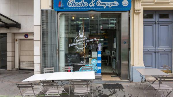 Devanture - Chacha & Compagnie Gambetta, Paris