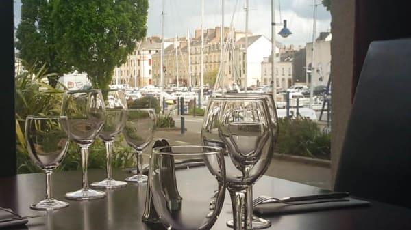 détail table  dressée - La Minoterie Redon, Redon