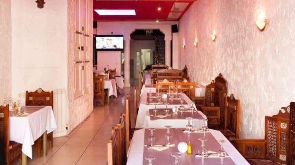 Salle du restaurant - Moharani Restaurant, Marseille