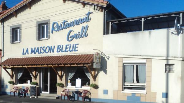Entrée - La Maison Bleue, Clermont-Ferrand