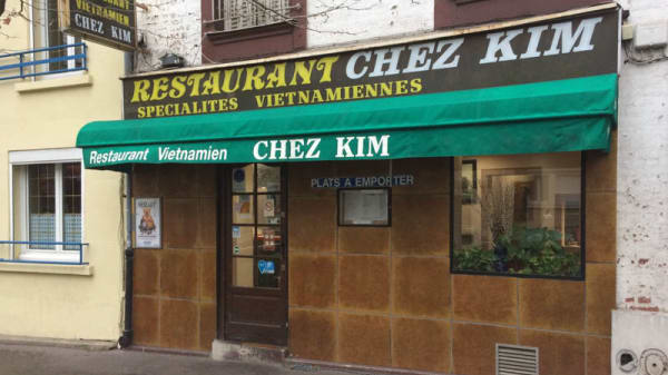 Devanture - Chez Kim, Paris