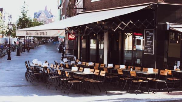 Ingang - Café Brasserie Meuwese, Amsterdam