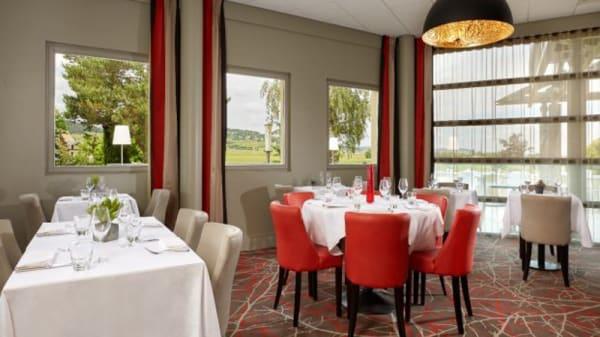 Salle du restaurant - Le Panorama - ørigin, Beaune