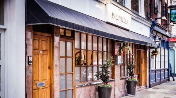 Entrance - IsolaBella Restaurant, London
