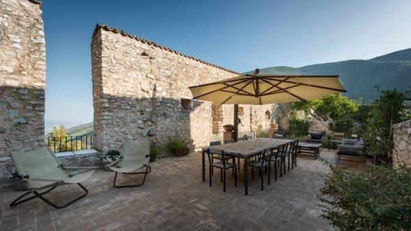 Terrazza panoramica - Sapori nel Borgo a Borgo Campello, Campello Alto