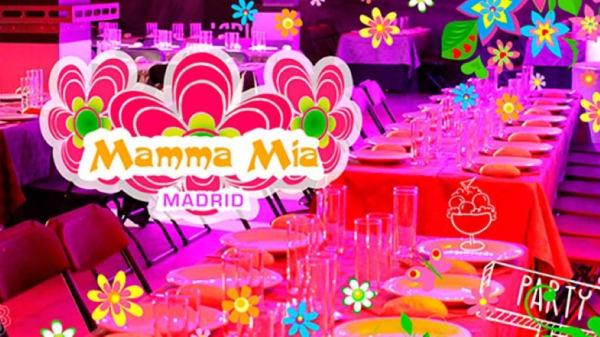 Vista mesa - Mamma Mía Madrid, Madrid