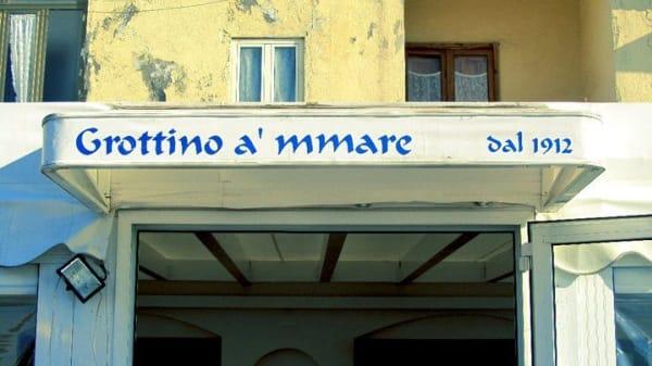 Insegna in stile marino - Grottino A'Mmare, Pozzuoli