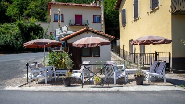 Terrasse - Café Restaurant de la Mine, Sahorre