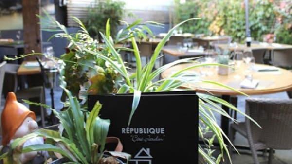 """terrasse - République """"Côté Jardin"""", Nantes"""