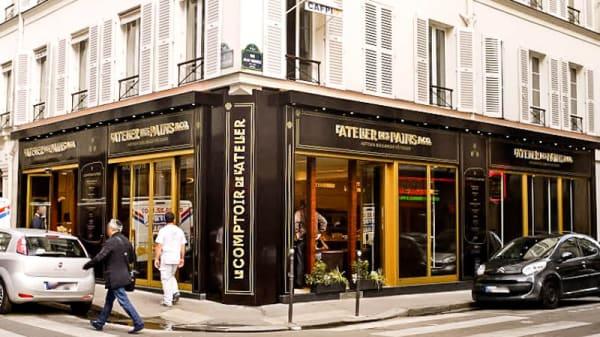 Vue devanture - Le Comptoir de l'Atelier, Paris