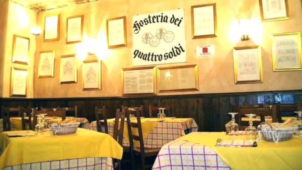 Vista sala - Ristorante Quattro Soldi, Turin