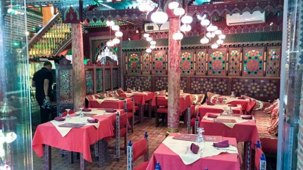 Vista del interior - BAB MANSOUR, Granada