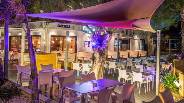 Terraza - tequilas, Calpe