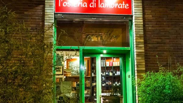 entrata - L'Osteria di Lambrate, Milano
